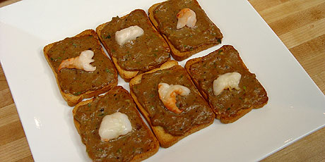 Shrimp toast recipes food network canada michael smith chef at home print recipe forumfinder Image collections