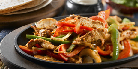 Sizzling mexican fajitas recipes food network canada sizzling mexican fajitas print recipe forumfinder Choice Image