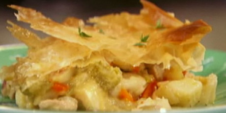 Skinny down home chicken pot pie recipes food network canada skinny down home chicken pot pie forumfinder Gallery