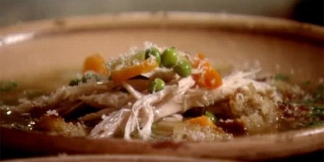 Soul soothing chicken soup recipes food network canada soul soothing chicken soup forumfinder Images