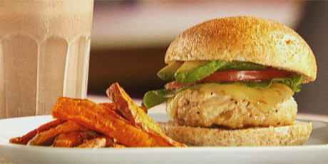 Southwestern Turkey Burgers Recipes | Food Network Canada
