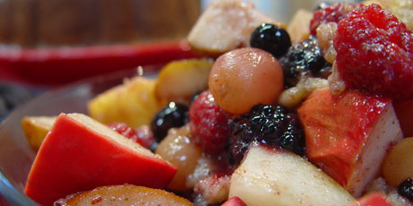 Spice-Baked Fruit Salad