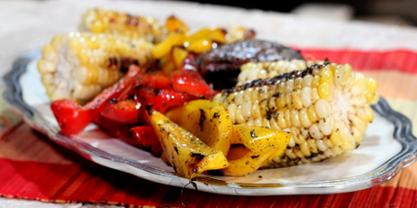 Spiced Grilled Vegetables