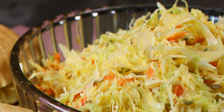 Spicy coleslaw recipes food network canada spicy coleslaw forumfinder Choice Image