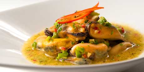 Spicy marinated mussels recipes food network canada forumfinder Image collections