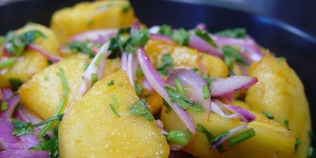 Spicy Pineapple Salad