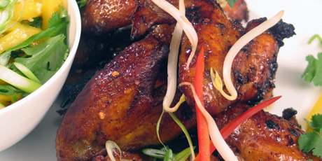 Spicy thai chicken wings recipes food network canada spicy thai chicken wings forumfinder Choice Image