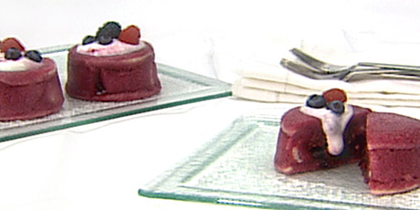 Summer Berry Pudding with Berry Creme Fraiche Recipes ...