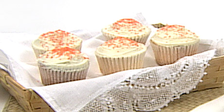 Tangerine cupcakes recipes food network canada tangerine cupcakes forumfinder Image collections