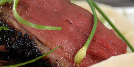 Tea Smoked Rotisserie Duck Recipe — Dishmaps