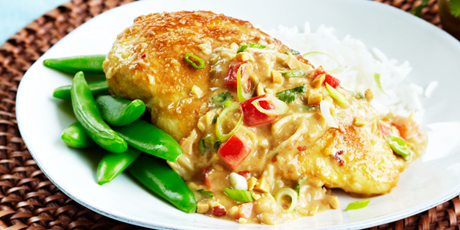 Thai Chicken Peanut Saute Recipes | Food Network Canada