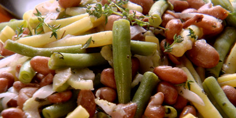 three bean salad string bean salad three bean salad with dill dressing ...