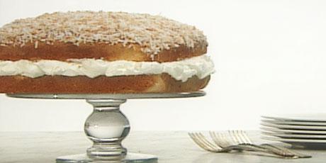 Toasted Coconut Cake Recipe Anna Olson