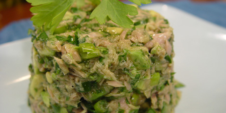 Tuna Avocado Salad