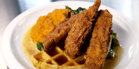 Unchicken and Waffles
