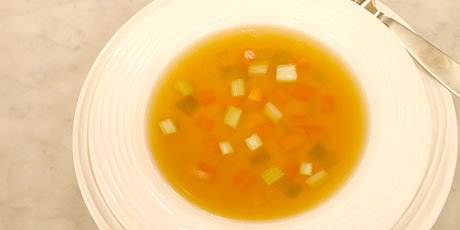 how to make consomme egg white
