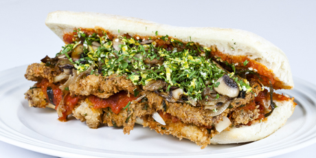 Veal Cutlet Sanga (Sandwich)