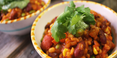 Michael smiths vegetarian chili recipes food network canada michael smiths vegetarian chili forumfinder Images