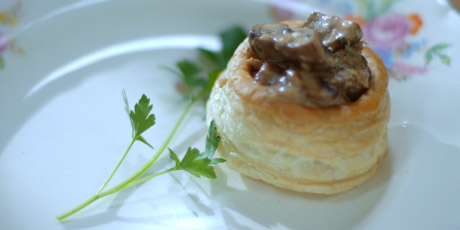 how to cook frozen vol au vents