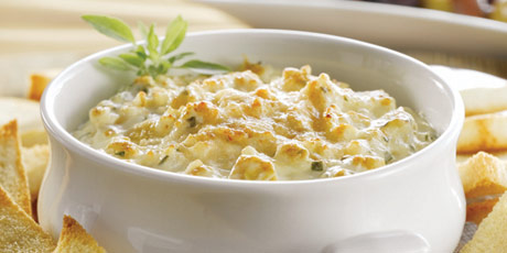 Warm Artichoke and Parmesan Dip