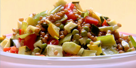 Wheat Berry Vegetable Salad Recipes | Food Network Canada