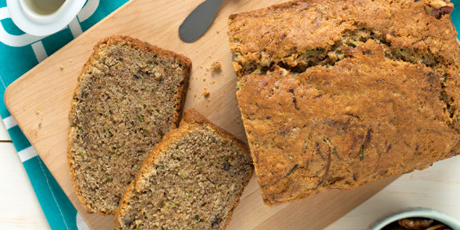 Zucchini bread with pecans recipes food network canada zucchini bread with pecans print recipe forumfinder Choice Image