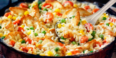 20 minute chicken and rice dinner recipes food network canada 20 minute chicken and rice dinner print recipe forumfinder Gallery