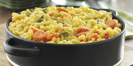 3 Cheese Veggie Mac & Cheese