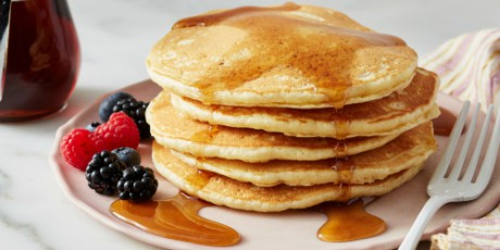 Simple Homemade Pancakes Recipes Food Network Canada