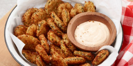 Air Fryer Fried Pickles Recipes Food Network Canada