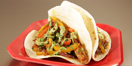 Lime chicken tacos recipes food network canada lime chicken tacos forumfinder Gallery