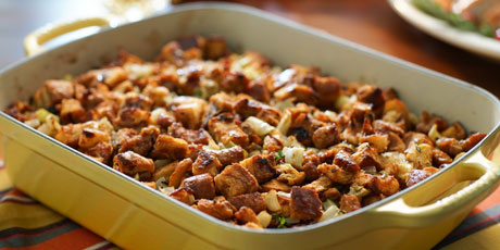 Cinnamon raisin bread stuffing with sausage recipes food network cinnamon raisin bread stuffing with sausage forumfinder Gallery