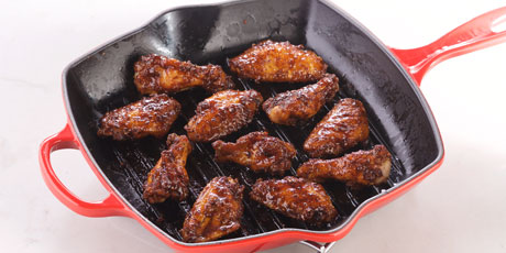 Maple bbq chicken wings recipes food network canada maple bbq chicken wings forumfinder Images