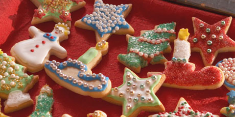 Santas christmas cookies recipes food network canada santas christmas cookies forumfinder Image collections