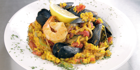 Seafood paella recipes food network canada seafood paella forumfinder Images
