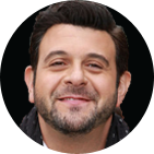 Adam Richman Young Food Fighters H...