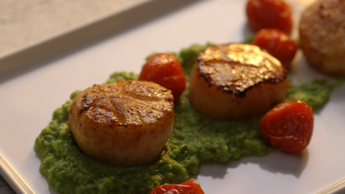 ... Canadian Cookbook Video - East Coast Summer Scallops - Foodnetwork.ca