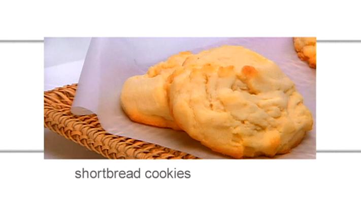 Food Network Canada Shortbread Cookies