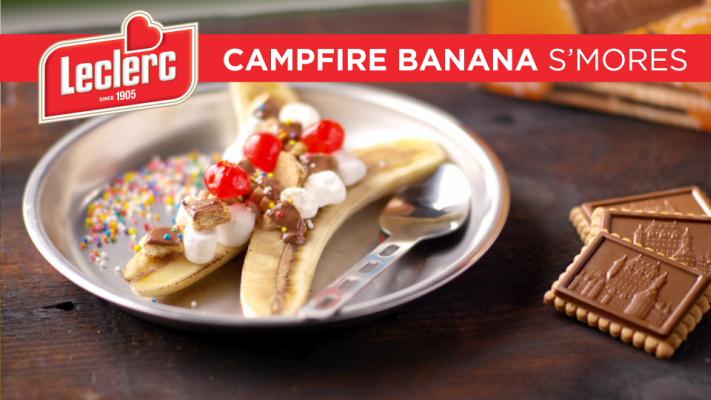 Leclerc Video - Campfire Banana Split - Foodnetwork.ca