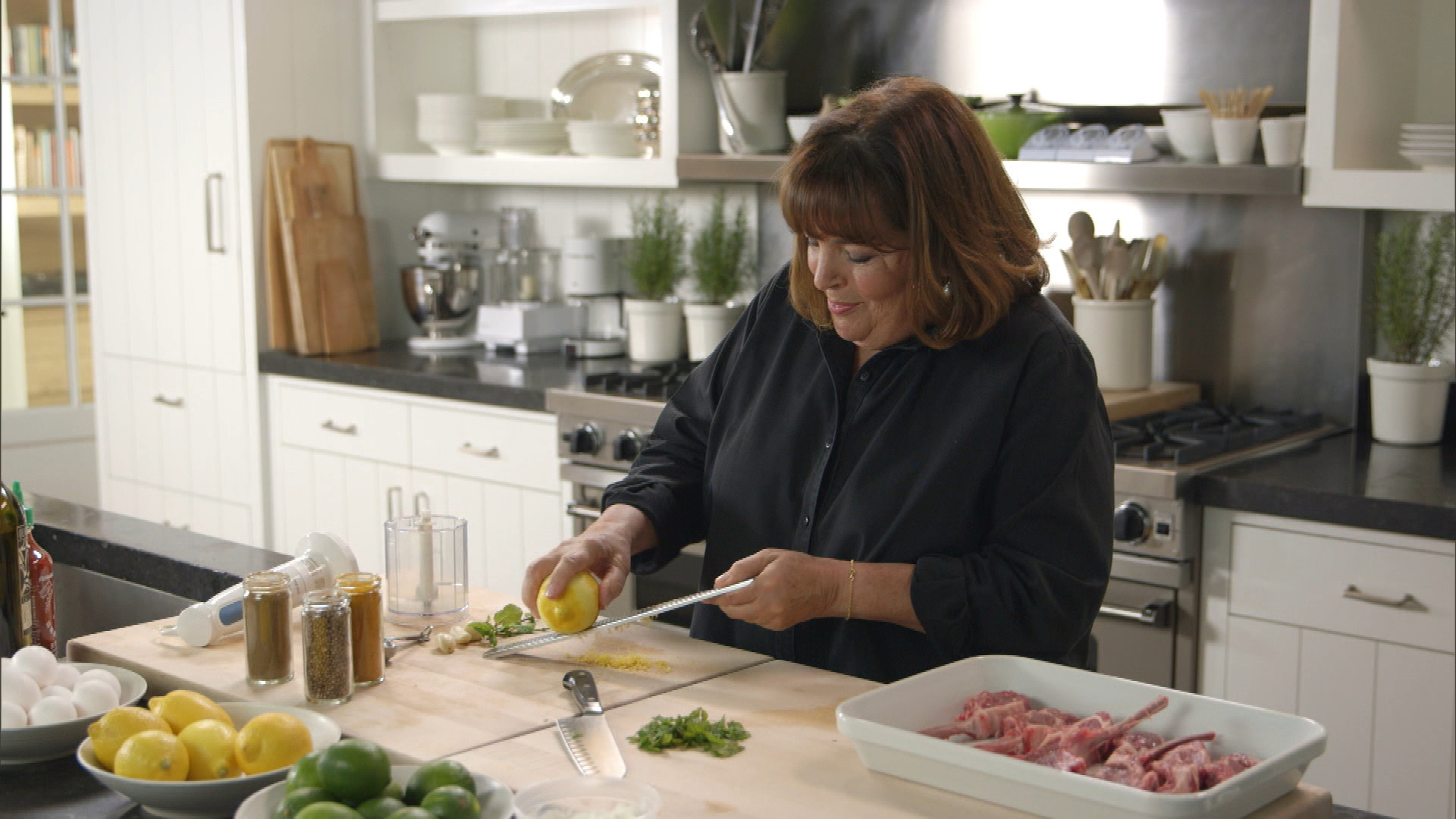 Barefoot contessa back to basics video moroccan grilled lamb chops season 12 episode 5 - Barefoot contessa cooking show ...