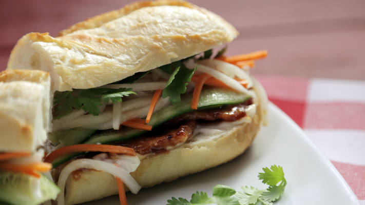 Great Canadian Cookbook Video - Peameal Bacon Banh Mi - Foodnetwork.ca