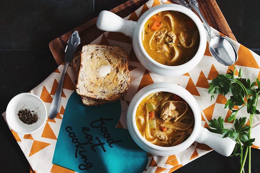 The Best Vegan Chicken Noodle Soup