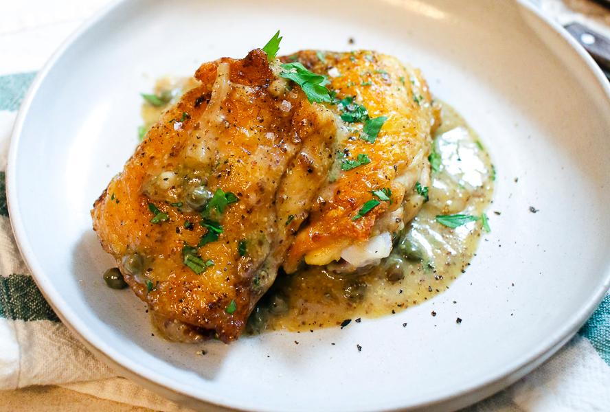 Creamy Skillet Chicken Food Network