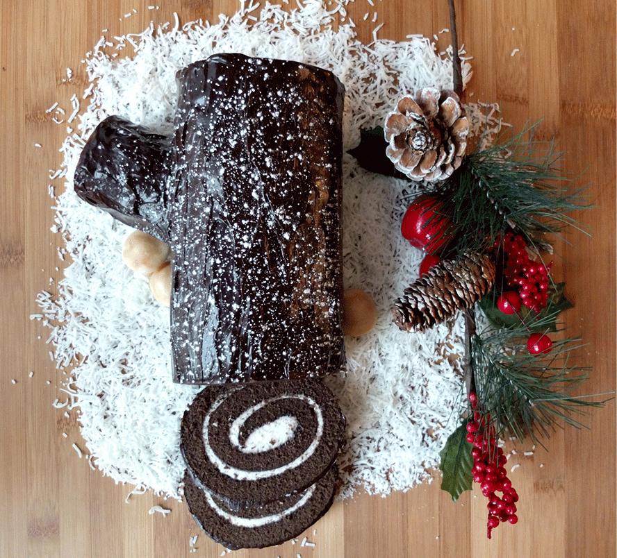 Easy Buche De Noel Cake Recipe