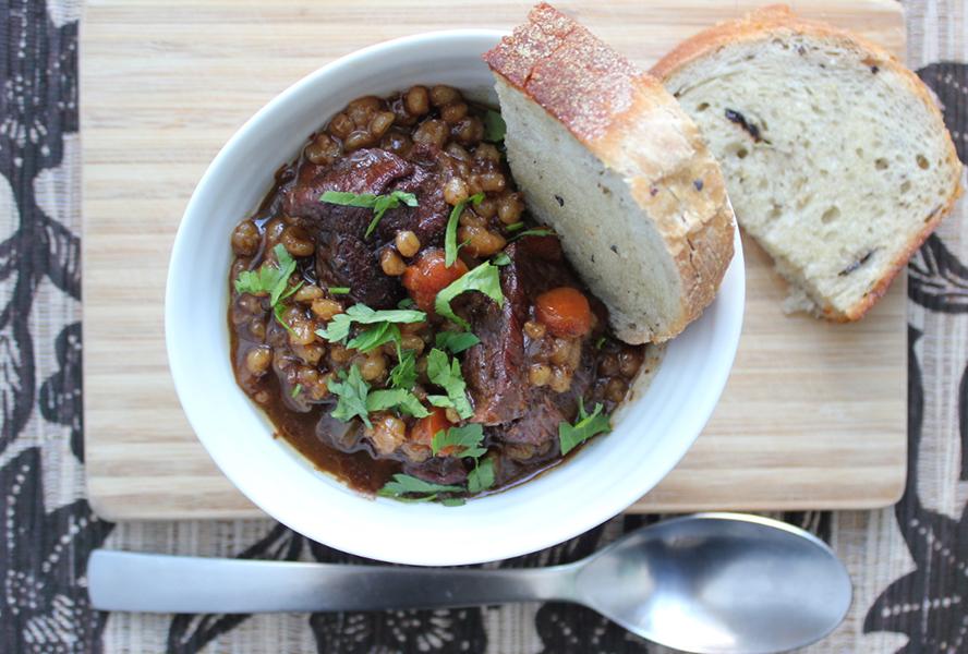 Beef and Barley Stew Bakersbeans
