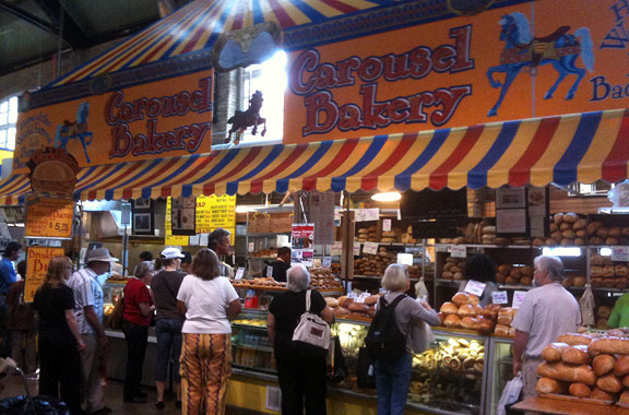 Toronto's Carousel Bakery has occupied the same spot in the historic St. Lawrence Market since 1977.