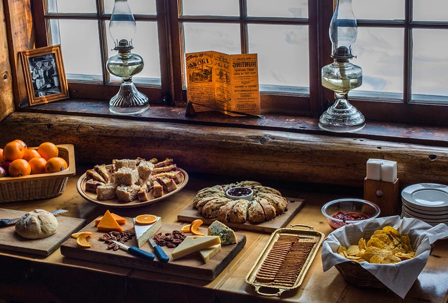 Skoki Lodge Food