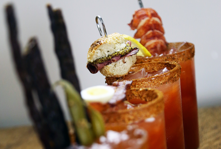 Great Canadian Caesar Garnishes
