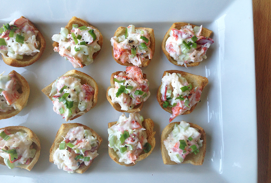 Lobster Roll Appetizer Recipe | Lobster House