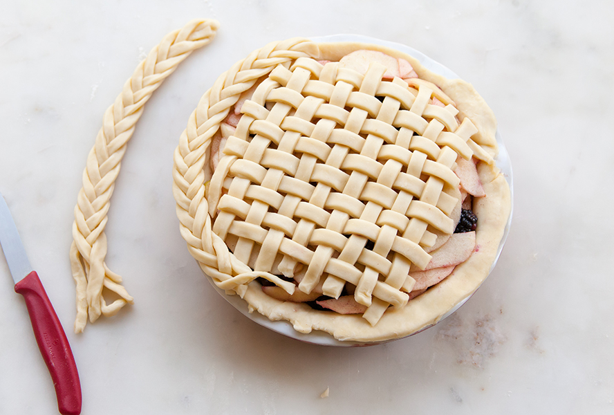 fishtail pie crust